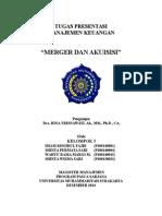 Tugas Rmk Kelompok 5 Mm Ums-merger Dan Akuisisi