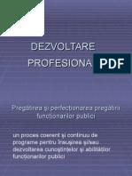 Dezvoltare Profesionala