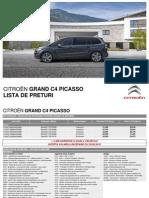 Citroen GD C4 PICASSO Lista de Preturi 05 20151
