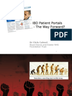 6 DDF 2015 Chris Calvert IBD Patient Portals - reviewed 20150623_CM.pptx