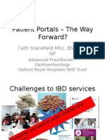 7 DDF 2015 Cath Stansfiled_Patient Portals – The Way Forward - reviewed 20150623_CM.pptx