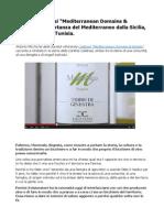 Cantine Calatrasi Mediterranean Domains & Estates l'Importanza Del Mediterraneo Dalla Sicilia, Alla Puglia, Alla Tunisia