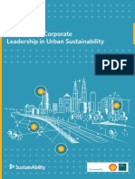 Citystates II the Case for Corporate Leadership in Urban Sustainability