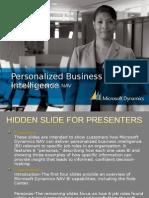 Personalized Business Microsoft Dynamics NAV Intelligence