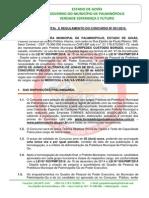 Edital e Regulamento Do Concurso Publico Palminopolis 2015