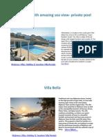 Top 20 Best Deals on Mykonos Villas 2015