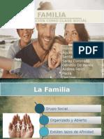 Familia y su posición como clase social