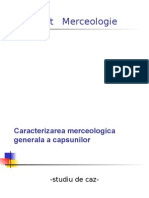 Caracterizarea Merceologica Generala a Capsunilor
