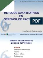 Introduccion a Las Probabilidades y Estadisticas en Gcia de Proyectos