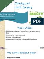 Obesity and Bariatric Surgery by Dr. Sanjiv Haribhakti
