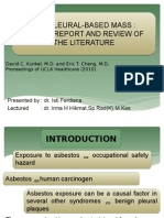 Pp Jurnal the Pleural-based Mass ( Thorak )