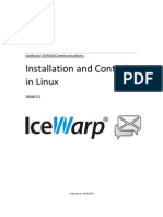 V 11 Installation and Control in Linux