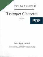 Arnold, Malcolm - Concierto - Score