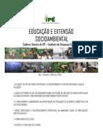 Caderno de Educação e Extensão Socioambiental IPÊ
