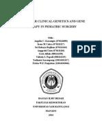 Bab 2 Genetika Molekuler Klinik Dan Terapi Gen