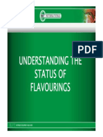 The Status of Flavouring