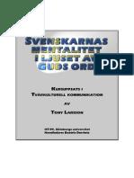 Svensk Mentalitet Guds Ord