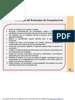 Decalogo Del Evaluador en Competencias