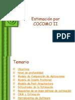 Estimación Cocomo II