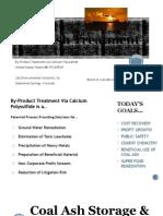 JJG Environmental Solutions, llc - World of Coal Ash Power Point Presentation
