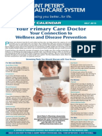 Your Primary Care Doctor - Your Connection to Wellness and Disease Prevention