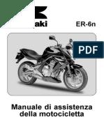 Kawasaki ER6 N Service Manual ITA
