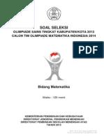 soal OSN matematika SMA kab. 2013.pdf