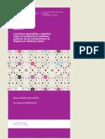 CIPPEC Lecciones Aprendidas y Desafíos Sobre La Incidencia en Políticas Públicas de Las Evaluacione, Aquilino y Estévez, 2014