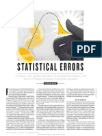 Statistical Errors by Regina Nuzzo