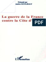 La Guerre de La France Contre La Côte d'Ivoire (French Edition)_nodrm