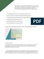 Process Unit Level Curriculum