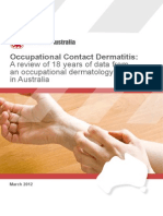 Occupational Contact Dermatitis