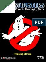 Ghostbusters Rpg Training manual