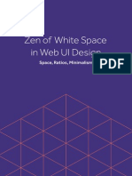 Uxpin Zen of White Space. Space, Ratios, Minimalism