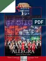 Libretto La Vedova Allegra