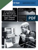 Measurement of Loudspeaker and Microphone