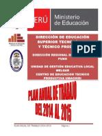 PLAN ANUAL DE TRABAJO 2014 AL 2015 CETPRO UMACHIRI.doc