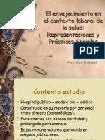 El Envejecimiento en El Contexto Laboral de La Salud RS y Pràcticas