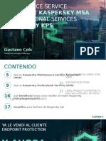 Presentación Para Resellers - Kaspersky MSA y Kaspersky KPS