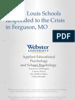 final - how stl schools responded