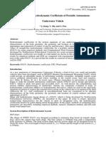 Computation of Hydrodynamic Coefficients of Portable Autonomous