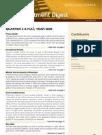 World Gold Council Q4 2009