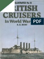 WI12 British Cruisers in WWI