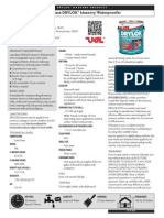 DRYLOK Masonry - Latex Base DRYLOK Masonry Waterproofer - Data Sheet
