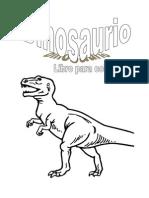 Dinosaurios, libro para colorear