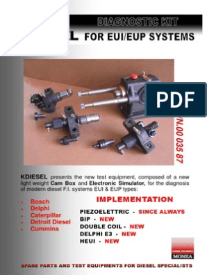 Brochure Cam Box Inglese | Diesel Engine | Fuel Injection