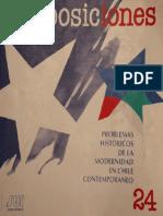 Revista Proposiciones n° 24 (1994) (Ediciones Sur)