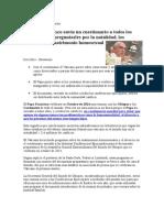 Cuestionario Del Papa Francisco