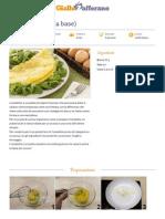 GZRic Omelette Ricetta Base