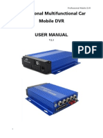 500 Series Car Mobile DVR User Manual V2.5